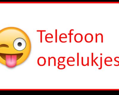 Telefoonongelukjes